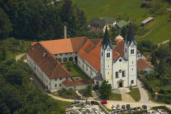 Franciscan Monastery with the Church of Mary of Nazareth